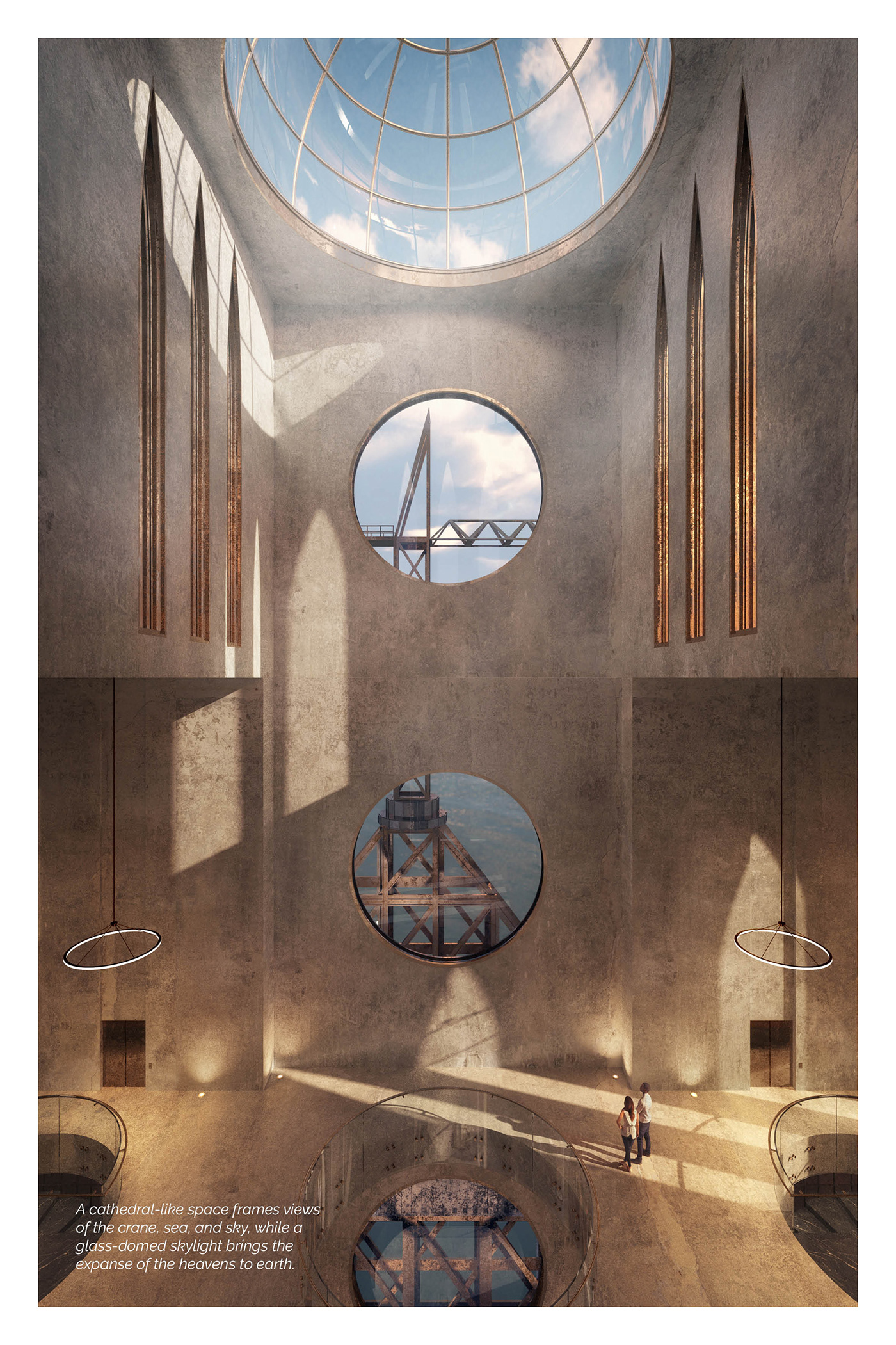 architecture CGI design ILLUSTRATION  preservation