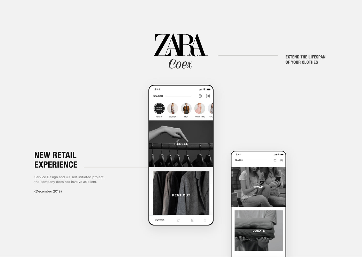 clothes clothing app Fashion Retail Retail secondhand marketplace secondhand shopping selling used clothes shopping app Sustainable Fashion zara