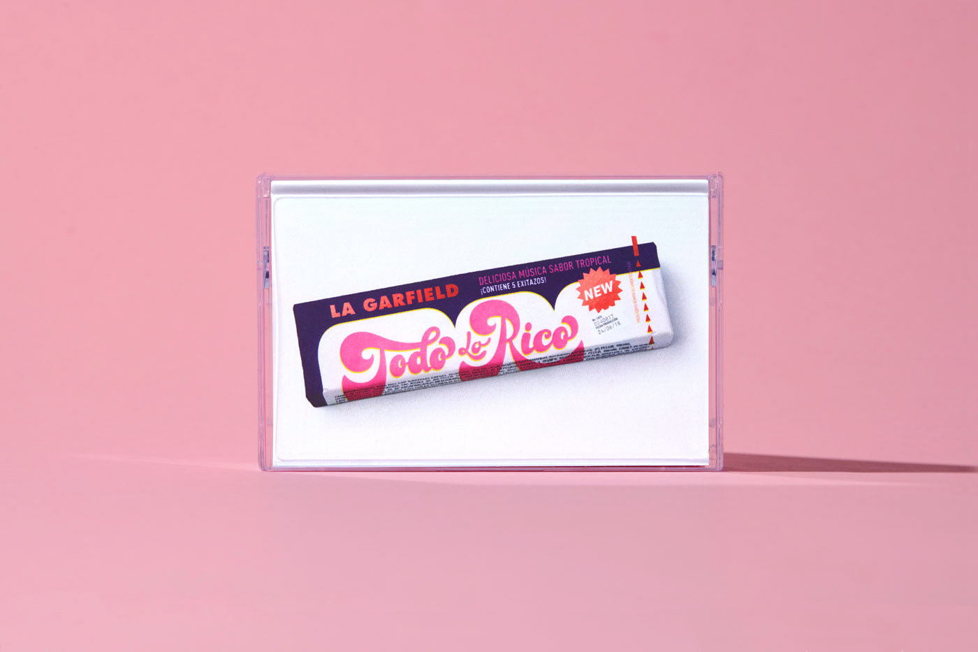 anagramastudio branding  Packaging mexico lagarfield todolorico Candy music vinyl cassette