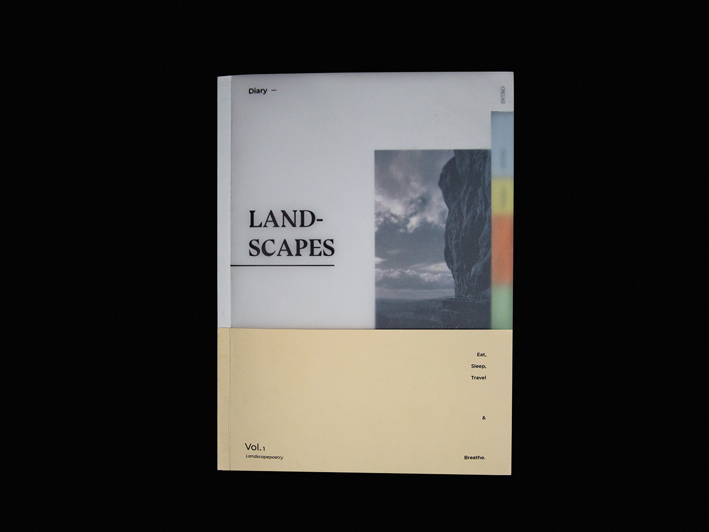 editorial Travel Landscape aesthetic Layout typography   book magazine creative Photography