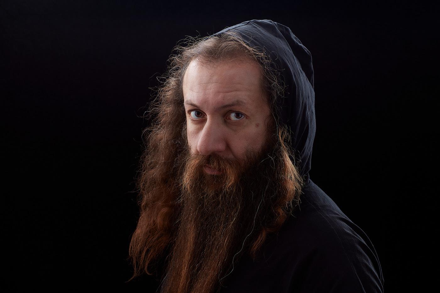 Image may contain: person, human face and human beard