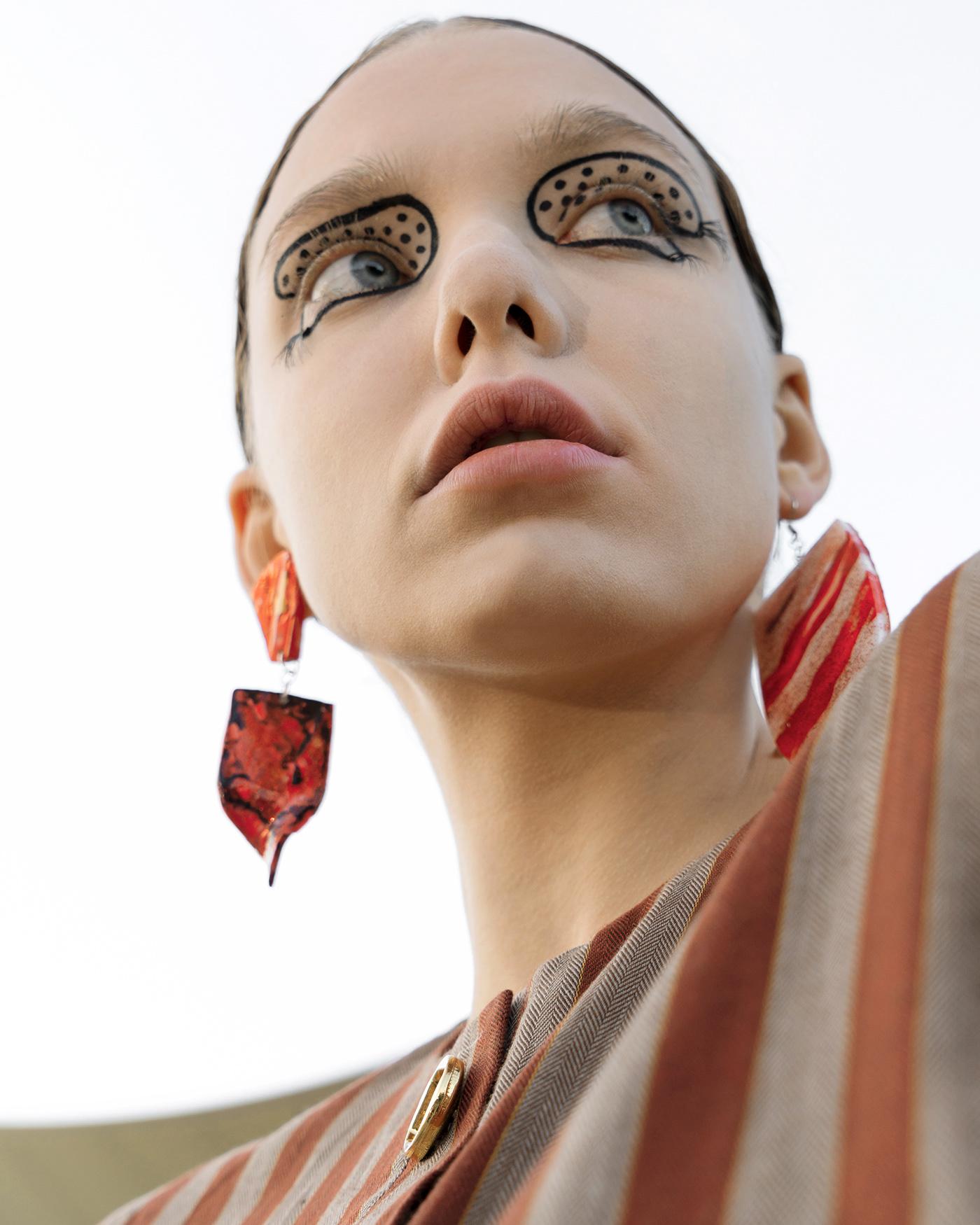 art editorial Fashion  hair magazine makeup MUA photo trends veinmagazine