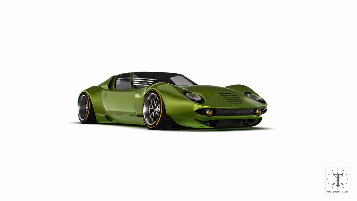 Lamborghini Miura Fr On Behance