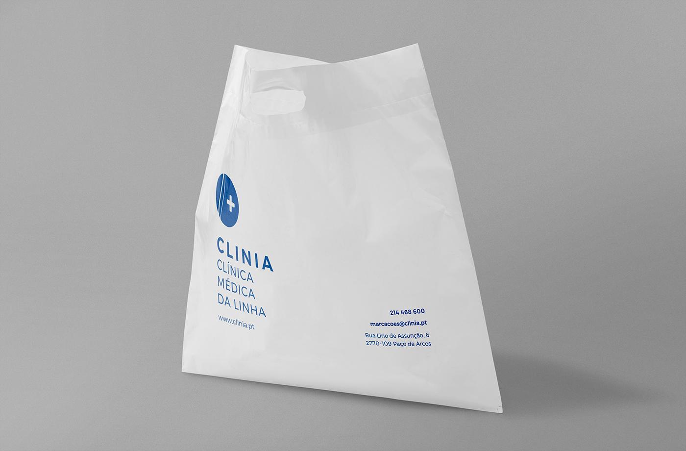 medical clinic branding  Lisbon rebranding