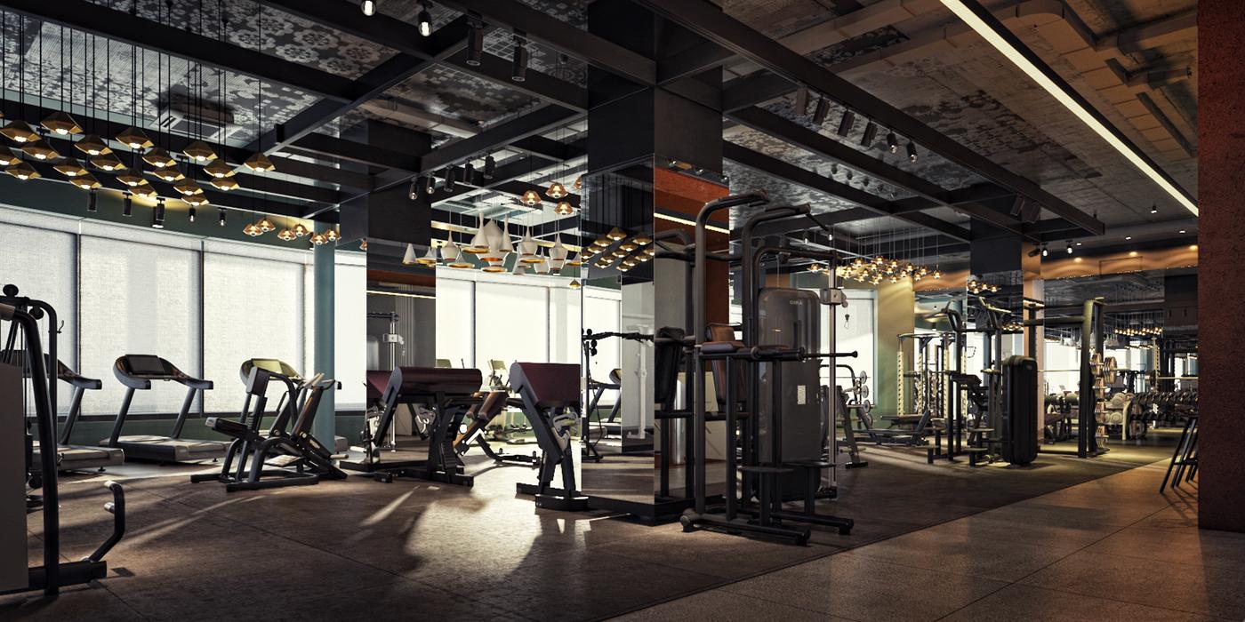 Palestra Fitness Club On Behance