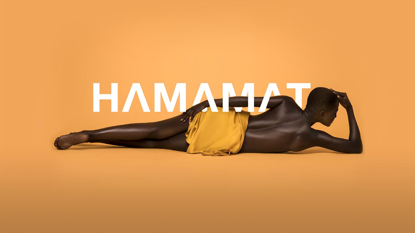 Branding Designer Graphic Designer UI designer logo designer Hamamat Beauty African beauty