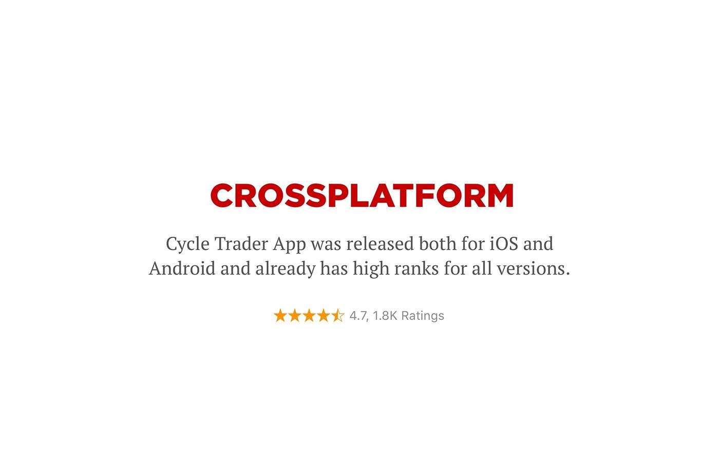 UI ux mobile ios android shop e-commerce Marketplace Bike Shopping