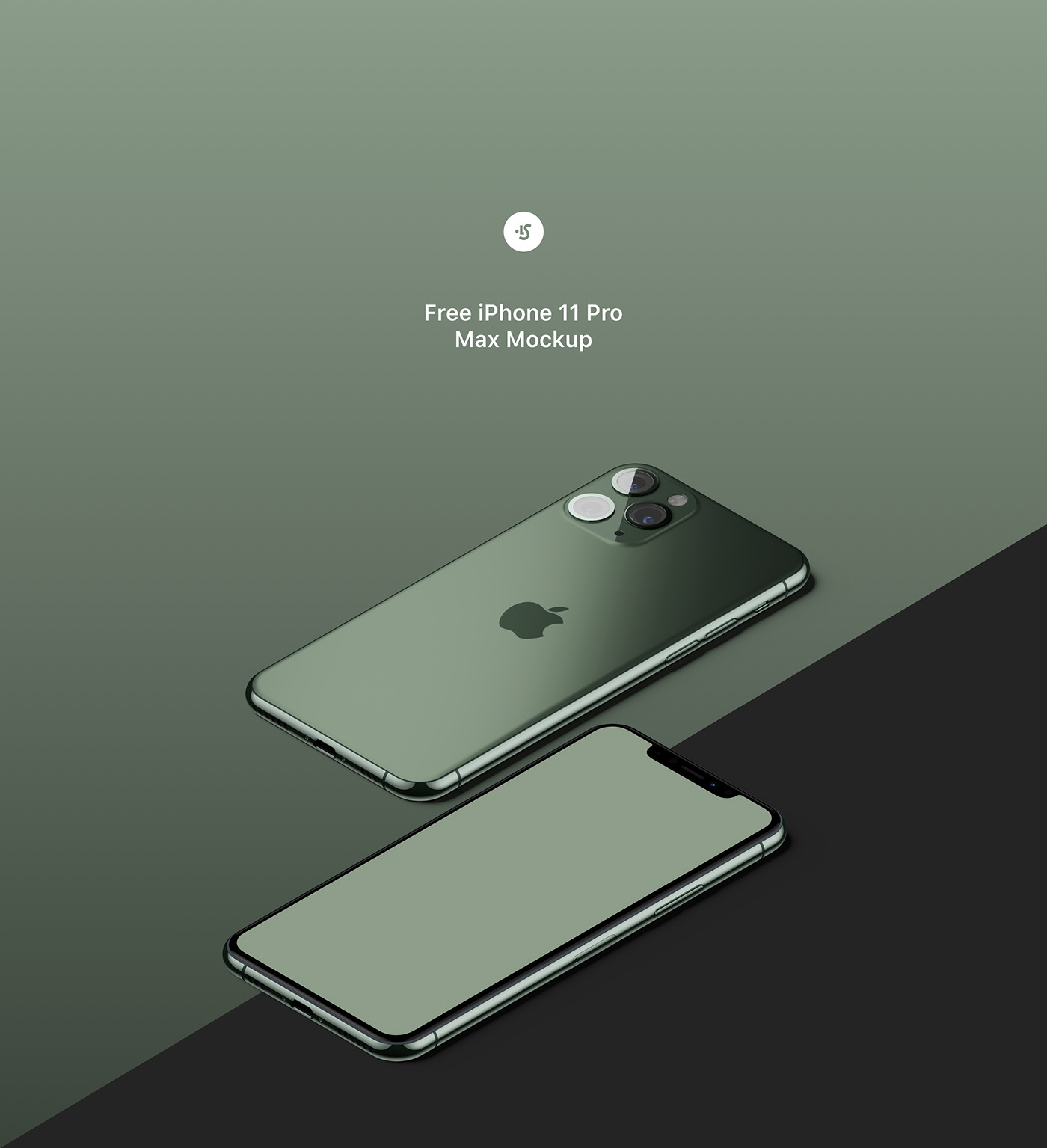 Free Iphone 11 Pro Max Mockup On Behance