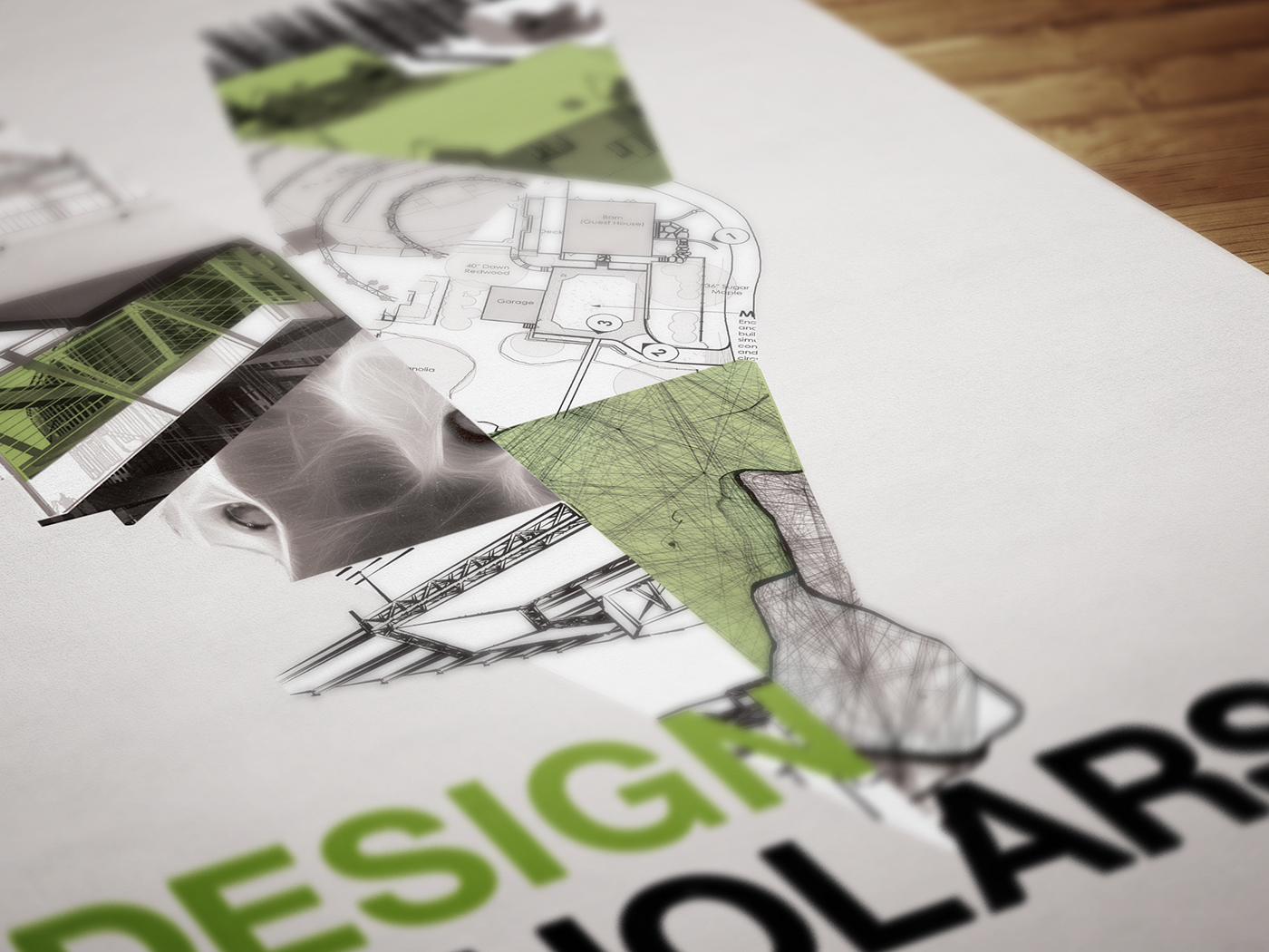 Vectorworks Design Scholarship Poster on Behance