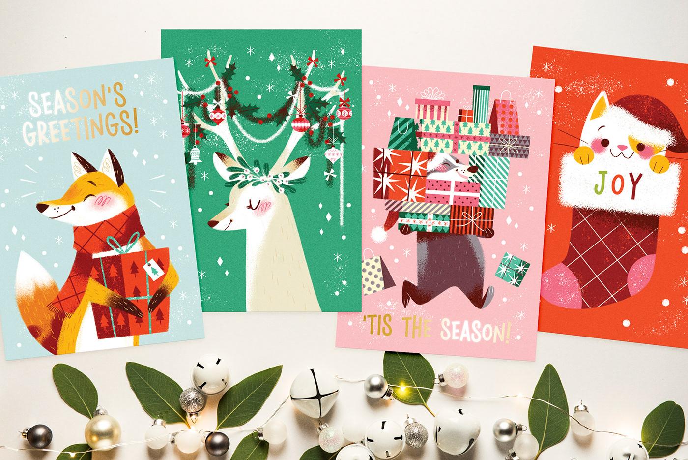 完美的27款聖誕卡片欣賞