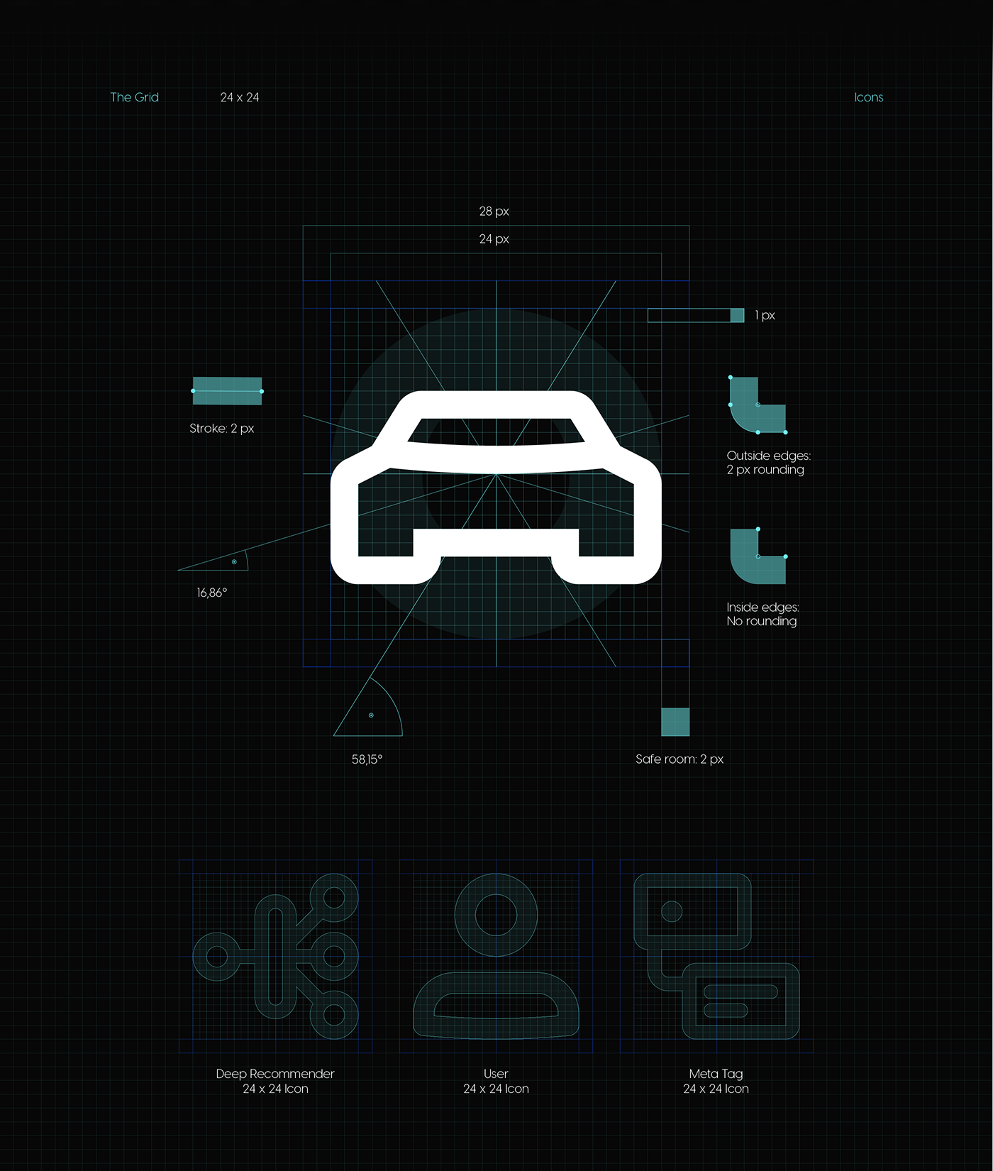 autointel automotive   brand design digital Icon recommender system visual