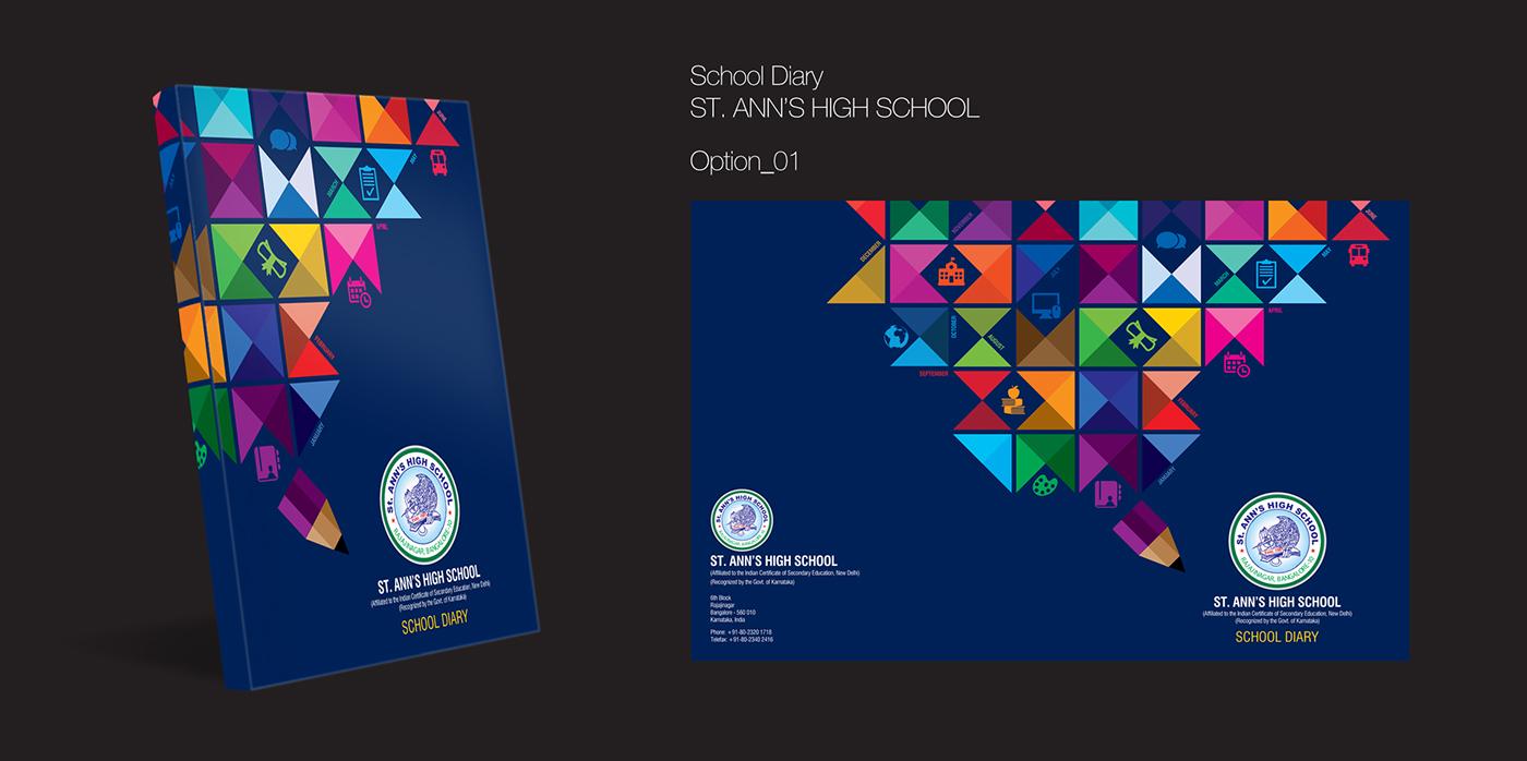 School Diary Design Covers