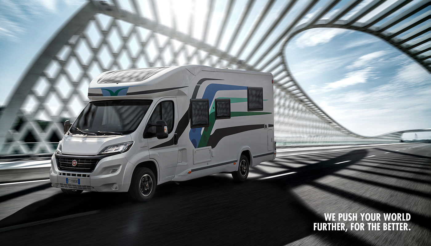 Image may contain: land vehicle, vehicle and van