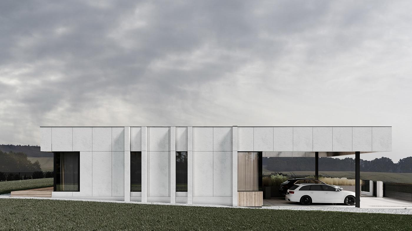 architecture archvis CGI coronarenderer design house Residence