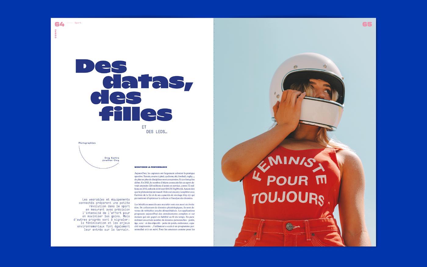 cako editorial font L'adn magazine Photography  type typography   Violaine & Jeremy vj-type