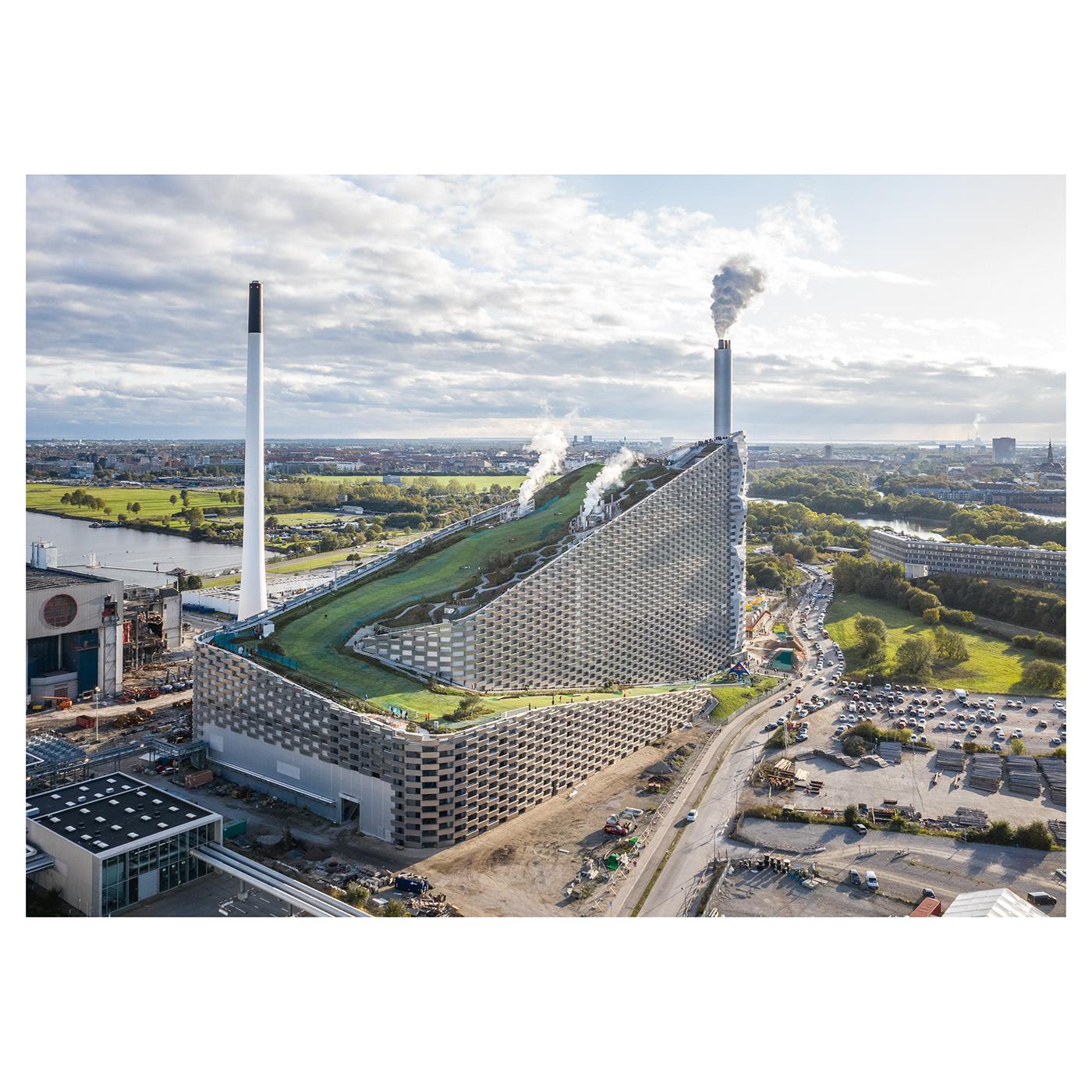 copenhill,Ski,architecture,renewable,big,Bjarke Ingels,Sustainable,copenhagen