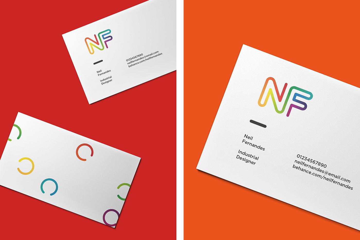 industrial designer designer identity self identity Self Promotion Self employed Stationery business card logo letterhead invoice Animated Logo