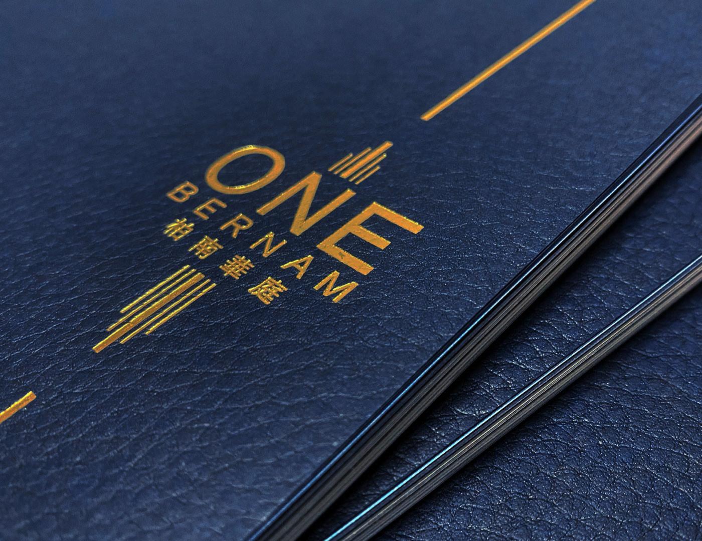 brochure luxury print property