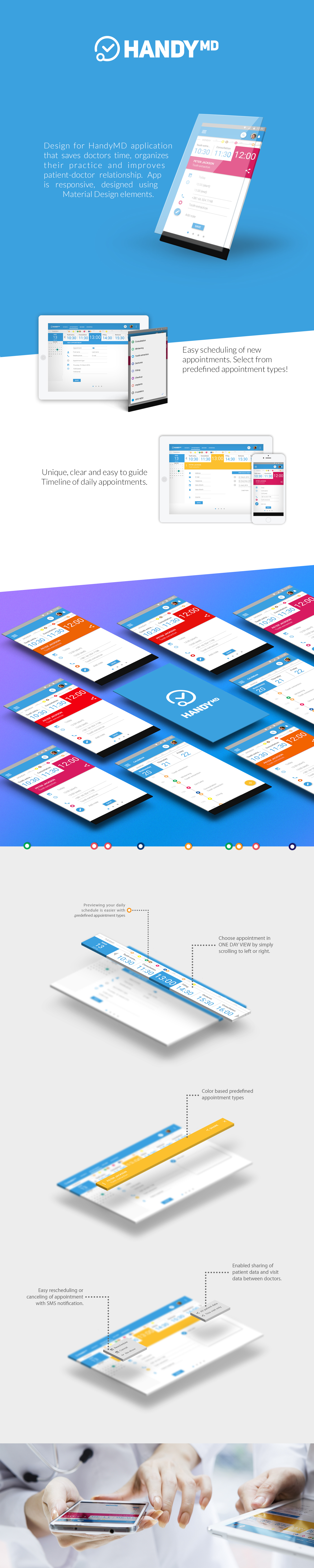 medical android UI ux user expirience user interface app design application app Application Design Medical app handy handymd Responsive Responsive Design