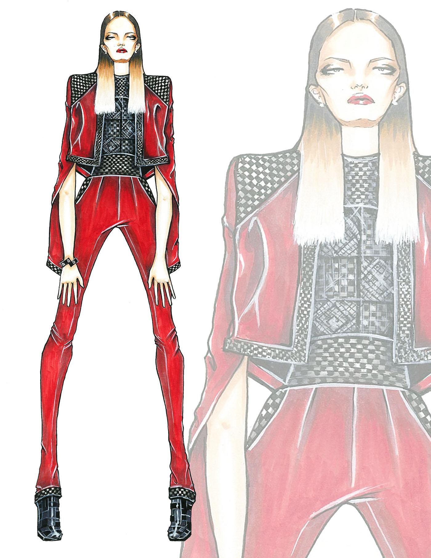 精細的35張衣服設計圖欣賞