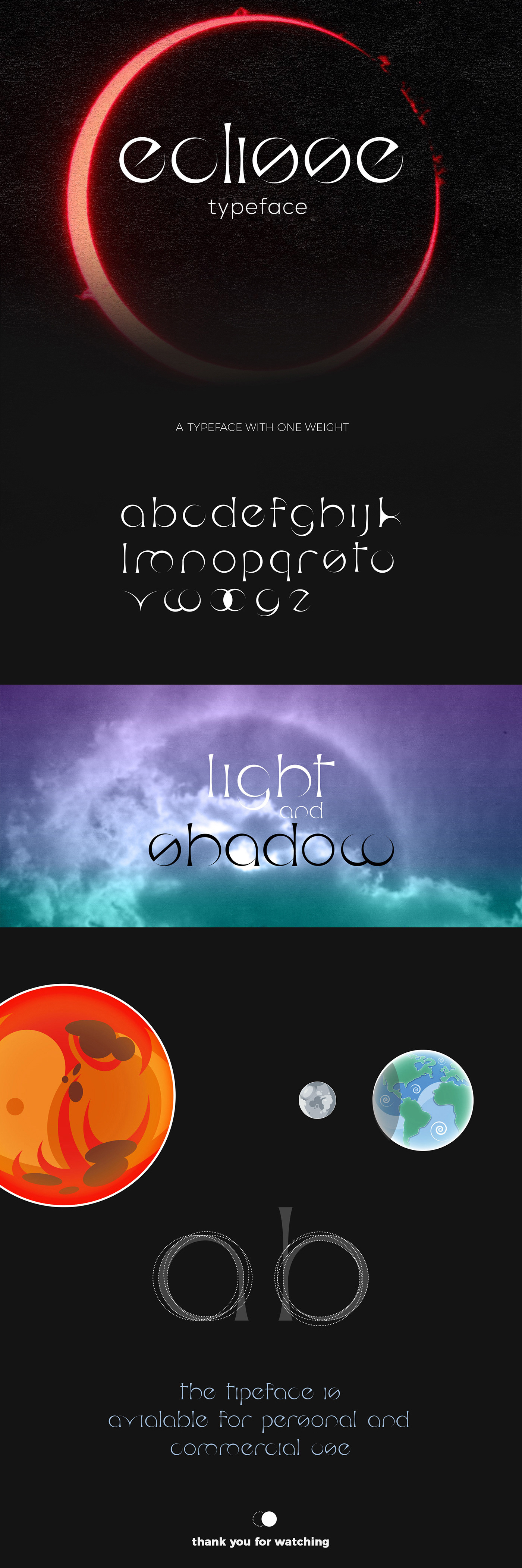Eclisse Typeface - Anteprima Font - Preview