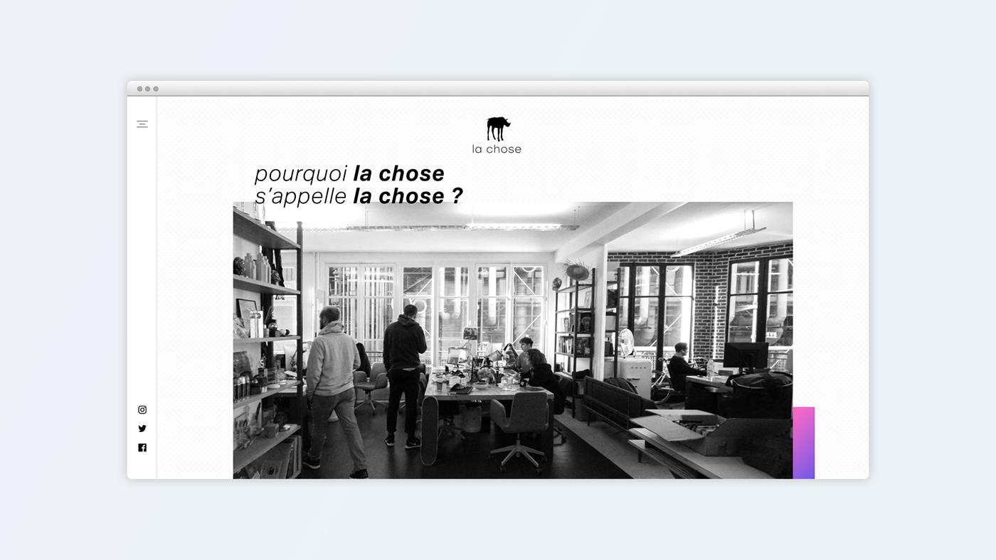 agency Webdesign Agency website ux UI art direction  Responsive Mobile first agence de communication web agency