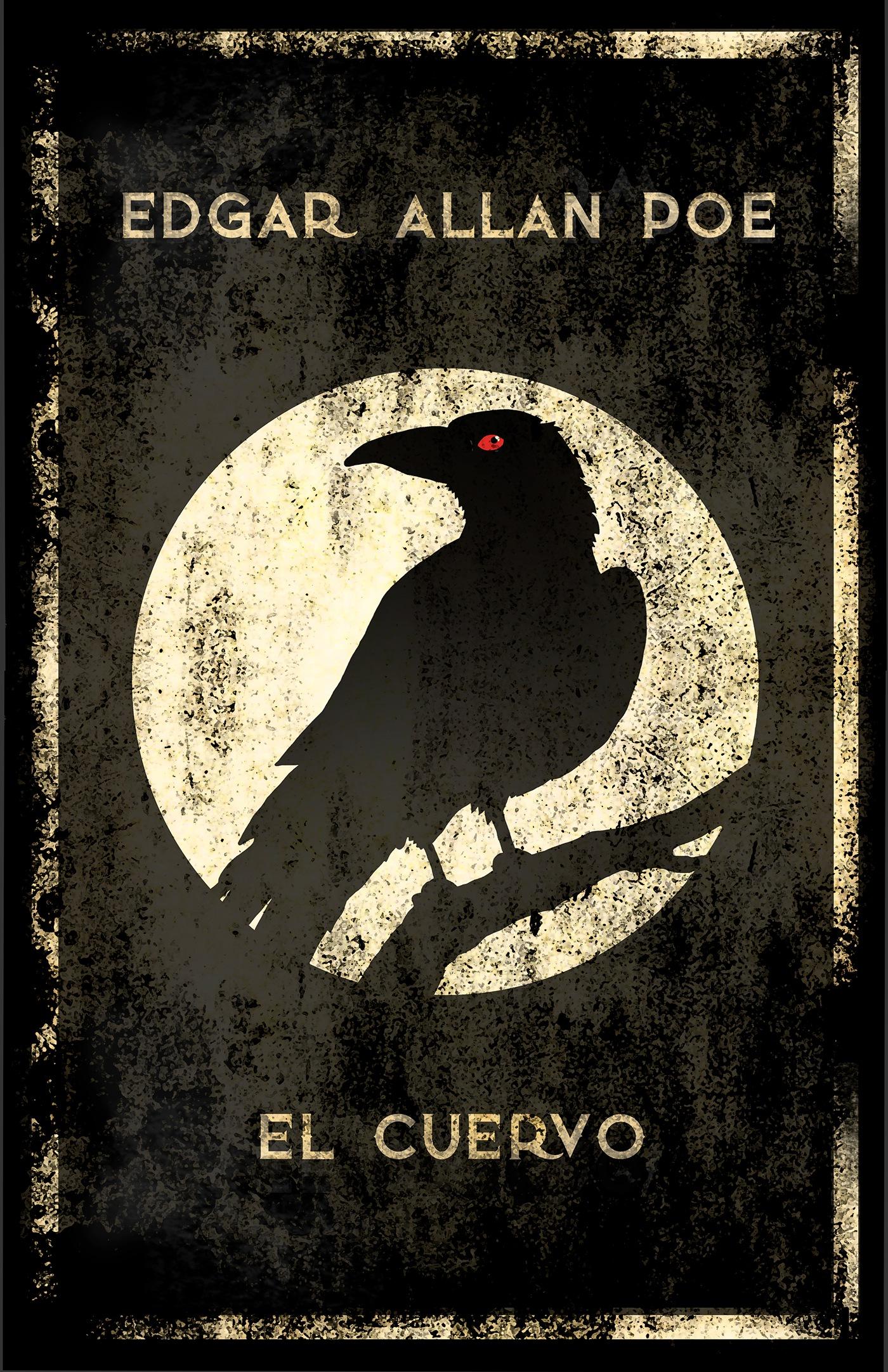 Edgar Allan Poe Afiches / Edgar Allan Poe's Posters on Behance