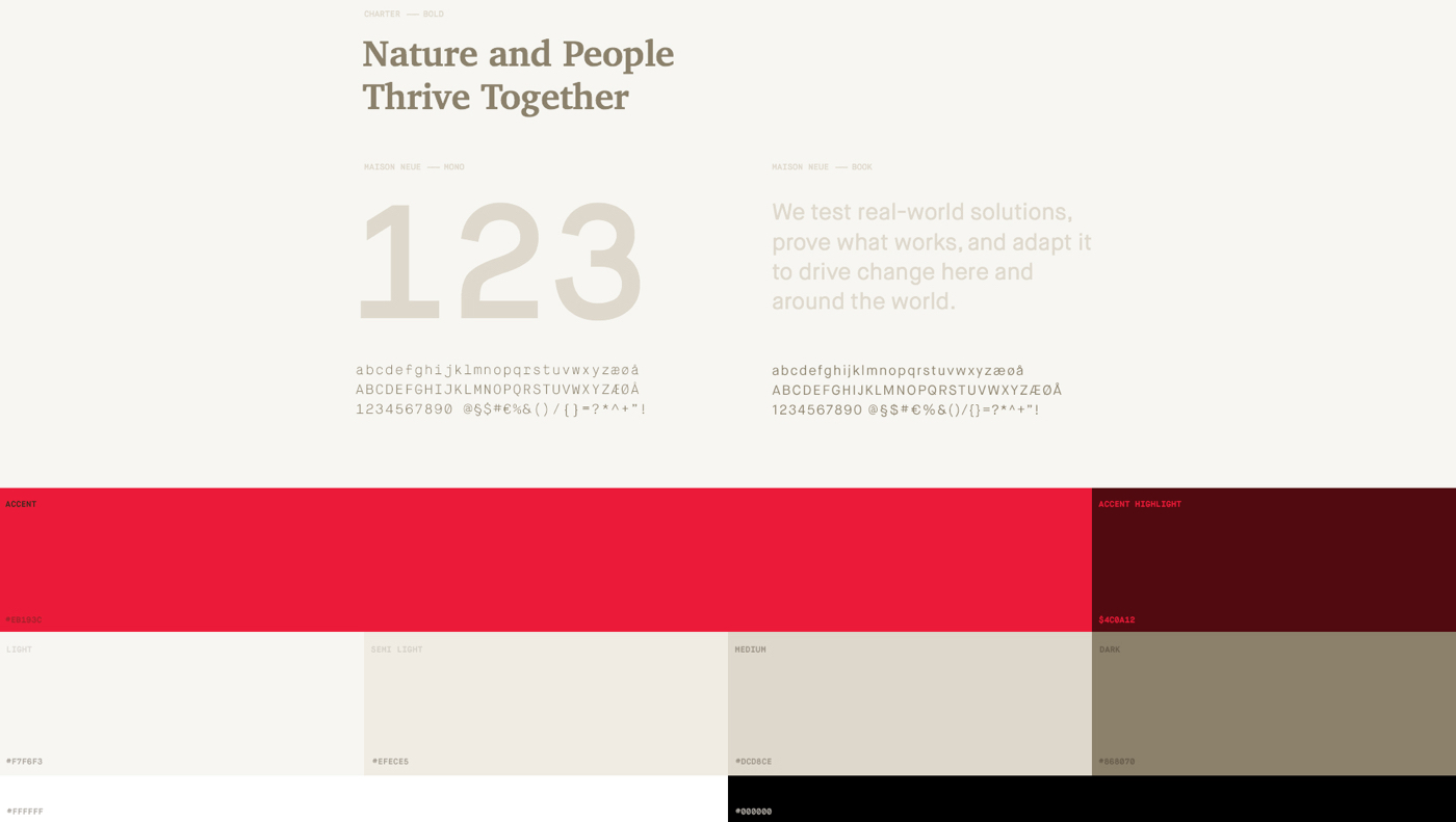 Nature Website ux UI THEMES Hello Monday color themes template articles