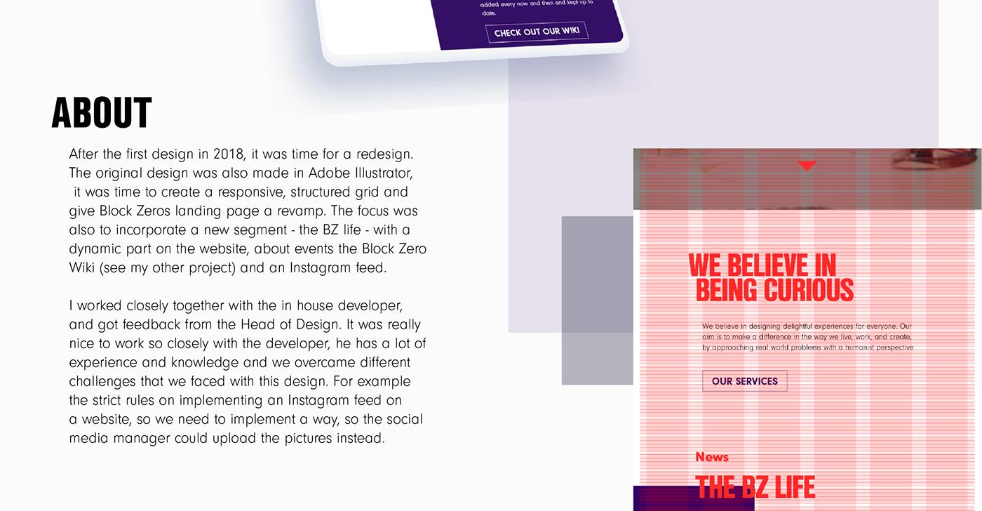 design grid redesign Responsive UI ux Web