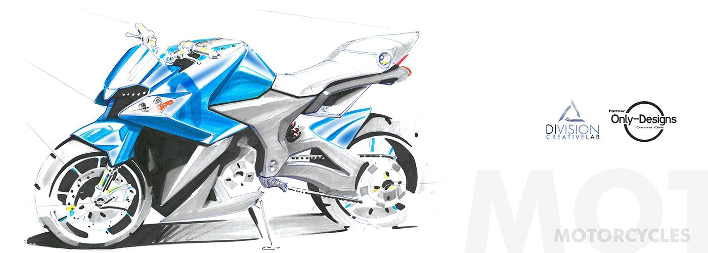 design motorcycle transportation engine sketches creative industrialdesign automotive   ILLUSTRATION  Bike