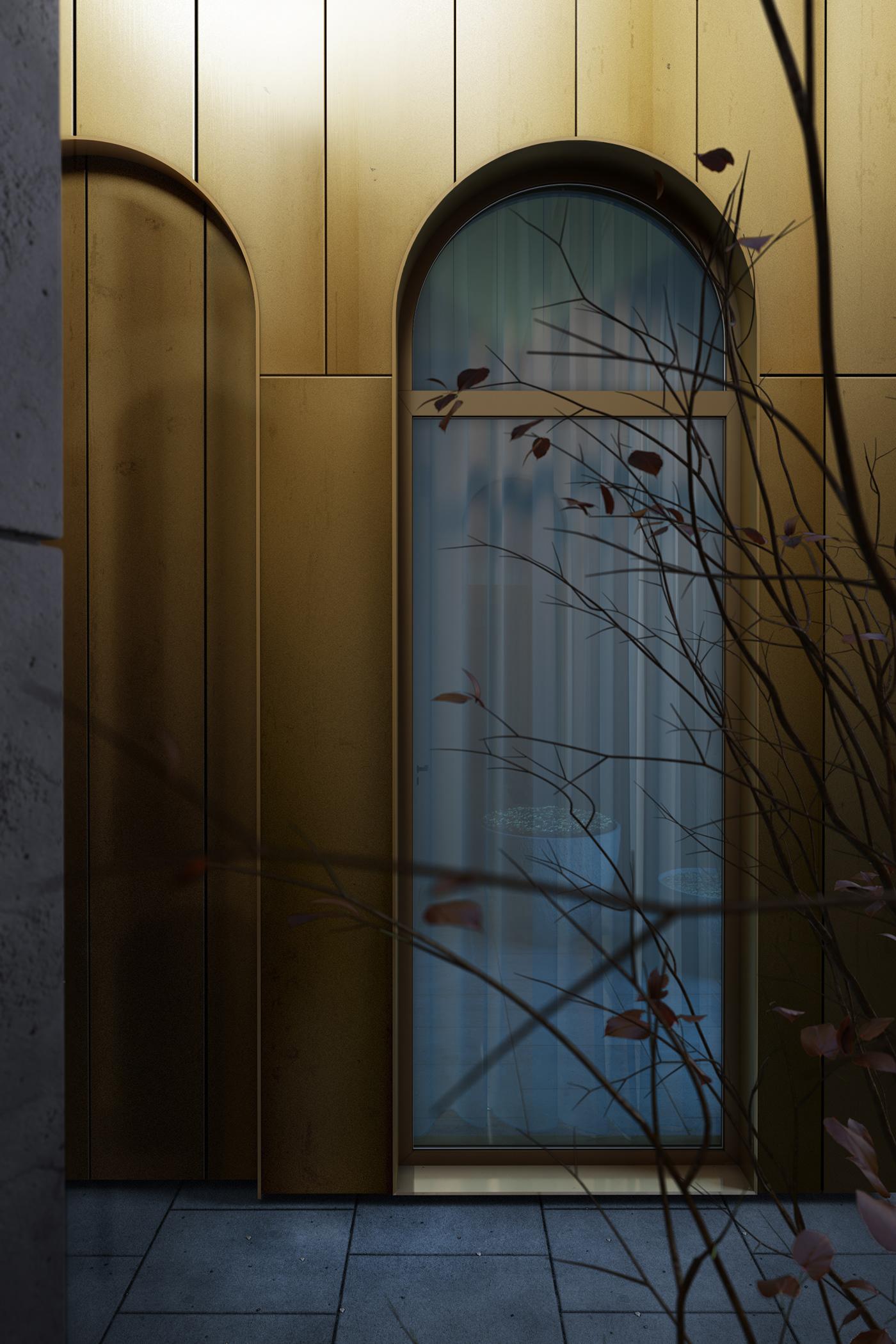 3ds max architecture BAK studio CGI corona renderer exterior Render Vizualization