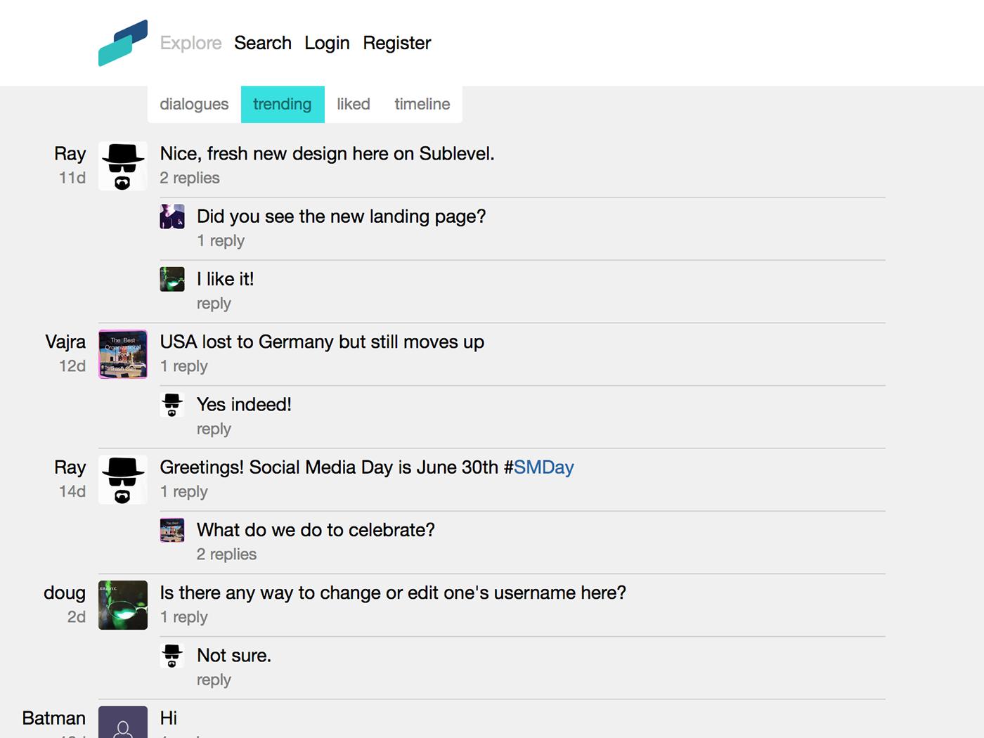 twitter network facebook social minimal app Webdesign UI ux design silver
