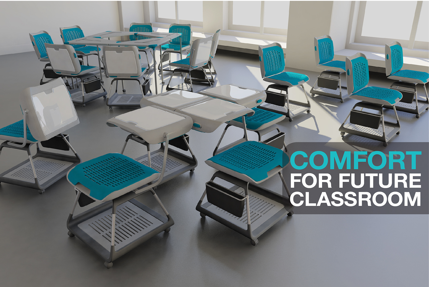 Innovative Classroom Arrangements ~ Future classroom seating on behance
