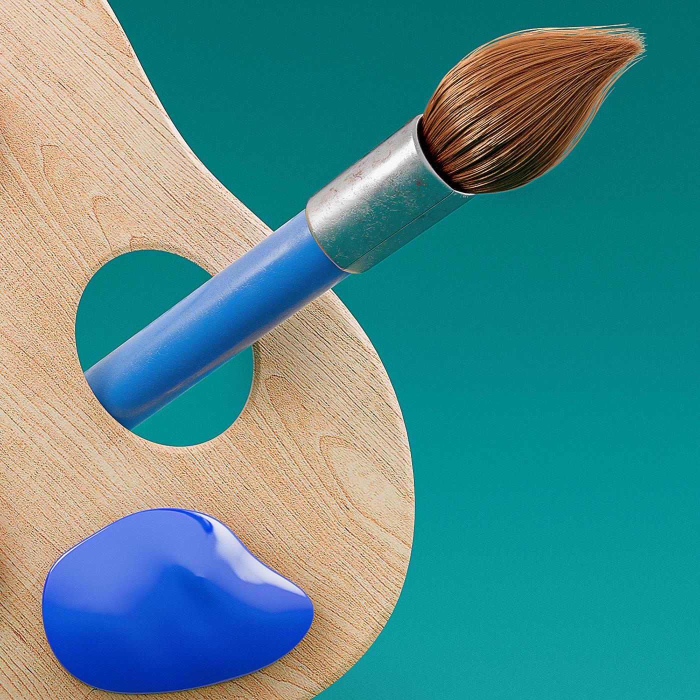 Icon design ILLUSTRATION  3D CGI Digital Art  vray
