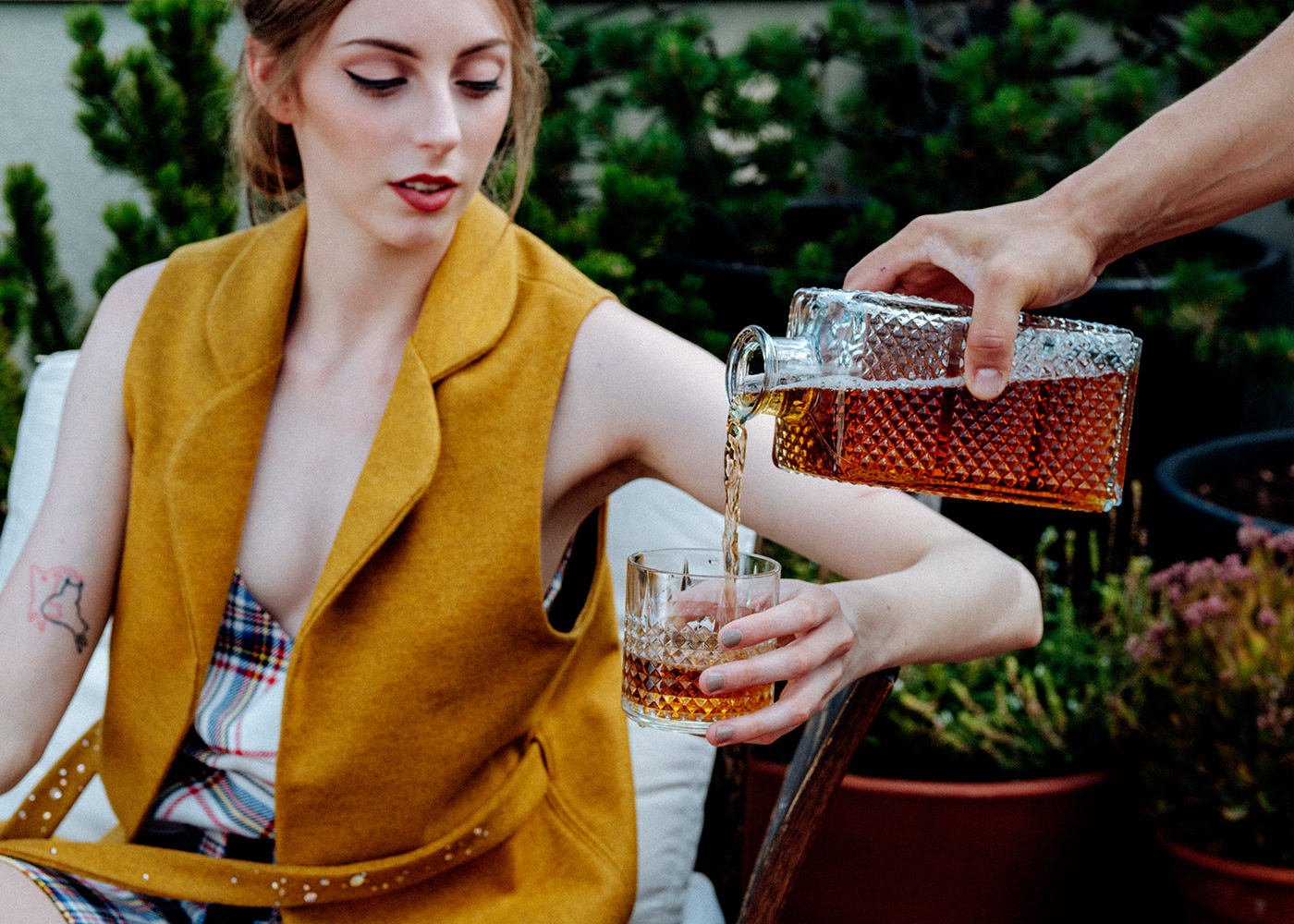 Fashion  story crystals bourbon fujifilm