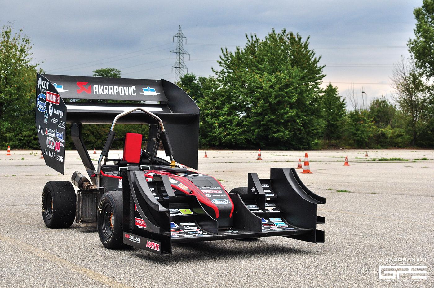 uni maribor formula student gpe14 f1 racecar Racing
