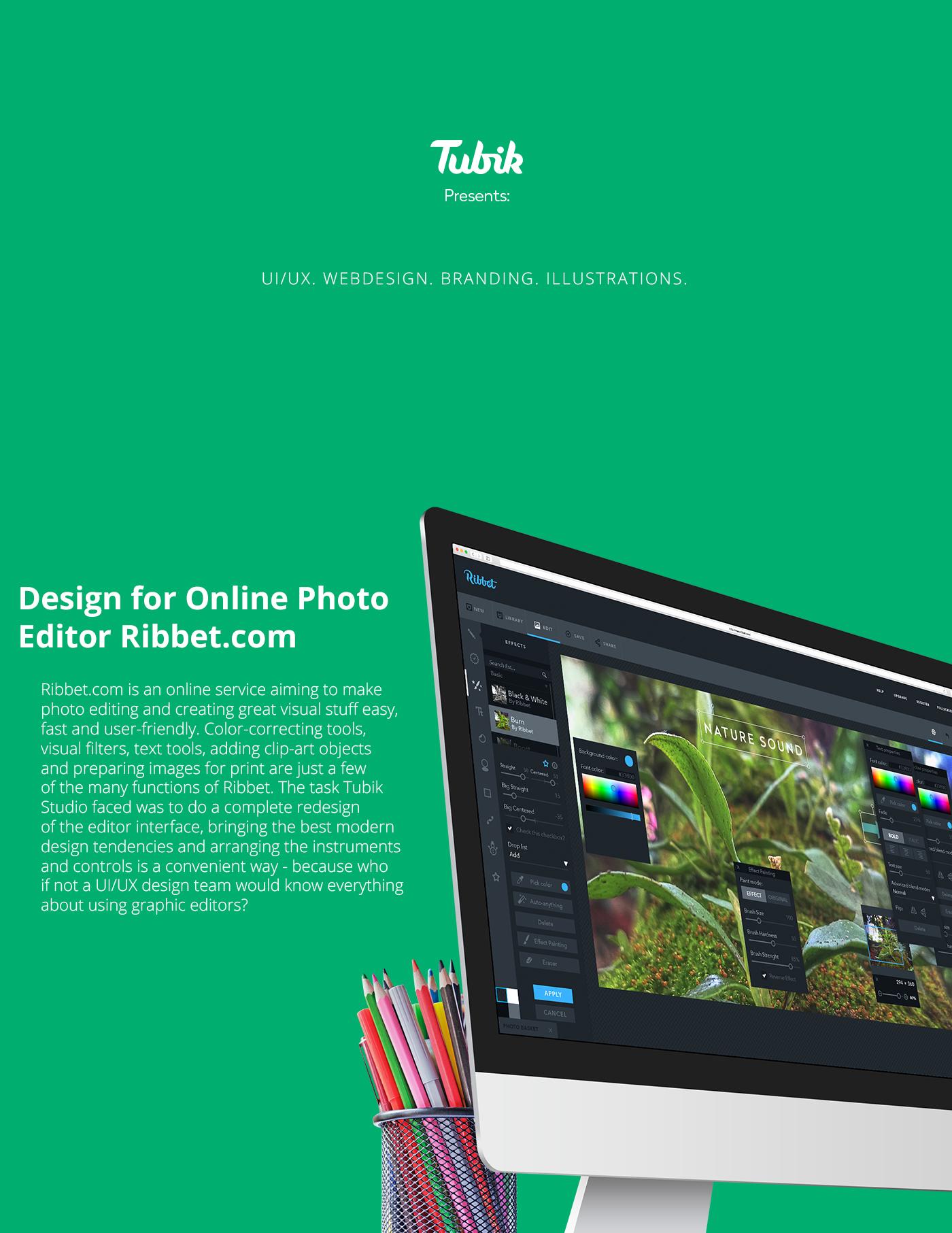 Tubik Studio Behance presentation