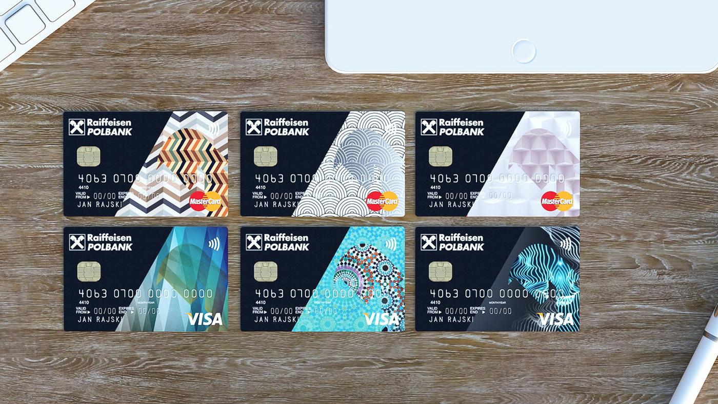credit cards raiffeisen bank on behance. Black Bedroom Furniture Sets. Home Design Ideas