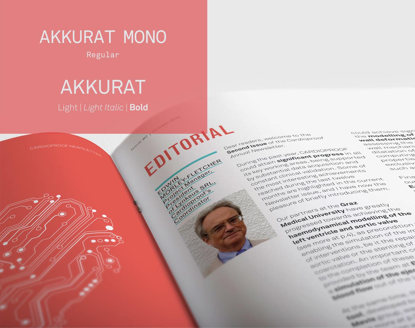 Cardioproof  European Project print book brochure newsletter heart healt