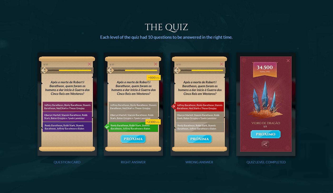 Game of Thrones got hbo book Quiz game dragon publisher nerdcast fantasy