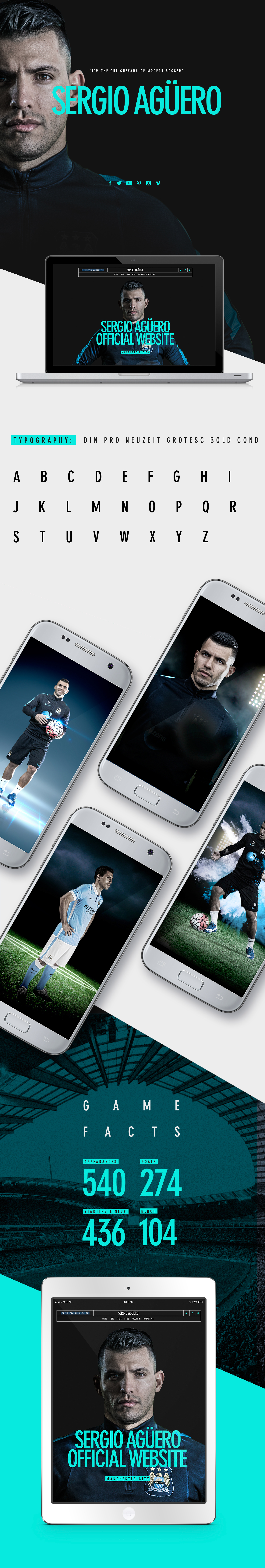 Sergio Aguero Tv Commercial Template On Behance