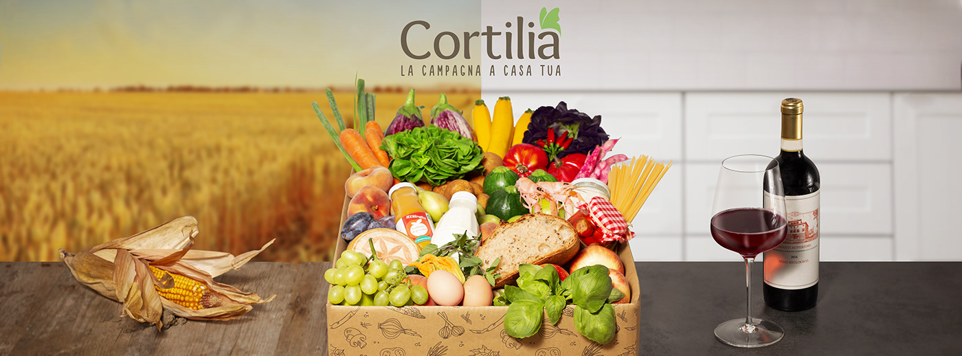 retouch bus ADV campaign Food  Photography  milan facebook Mockup vegetables