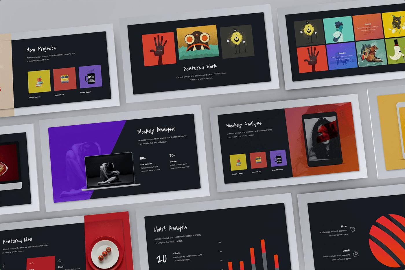 Notify - Animated & Creative Presentation Template (KEY) - 7