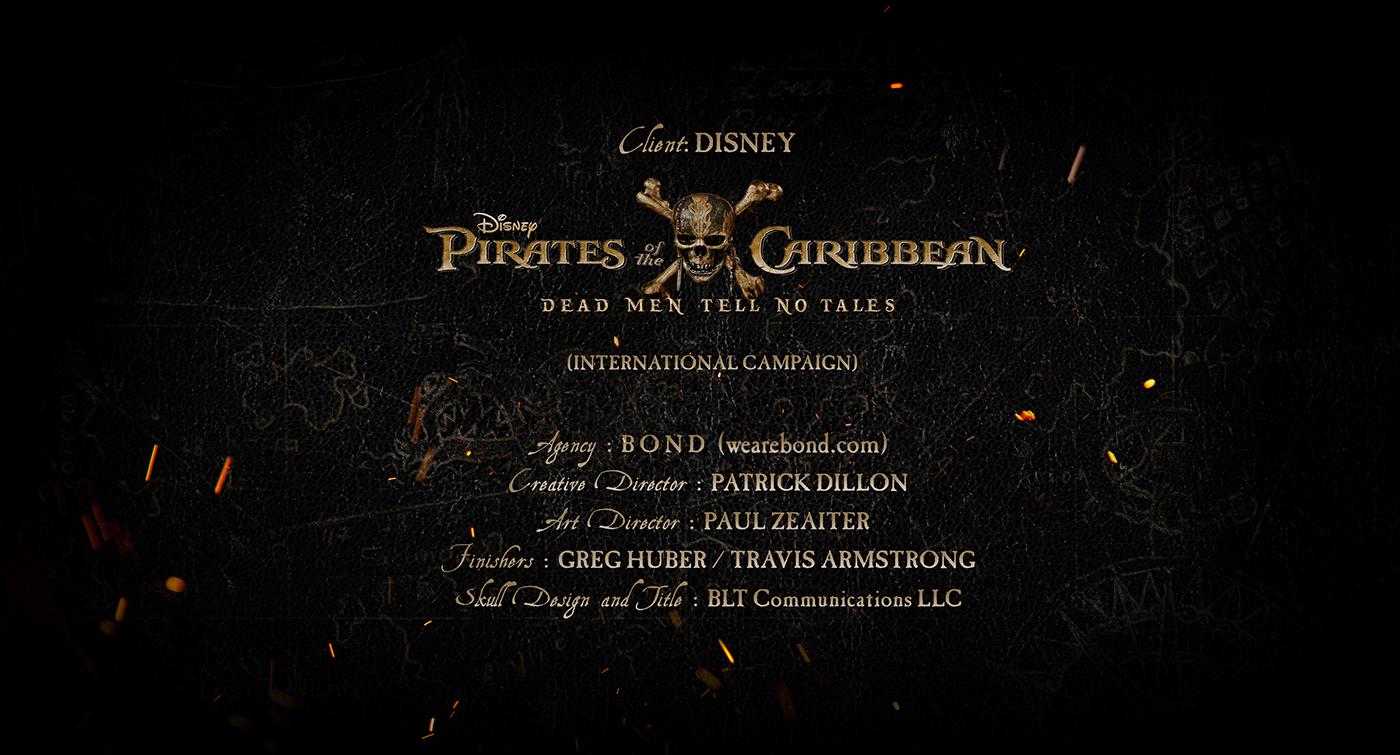 pirates disney Pirates Caribbean sharks DEPP bardem jack sparrow barbosa salazar key art