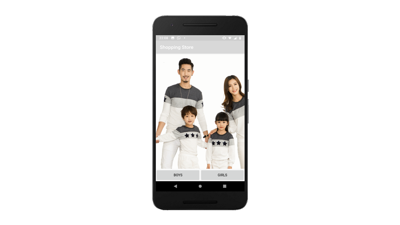 app android kotlin Android Studio Shopping store Shopping Store