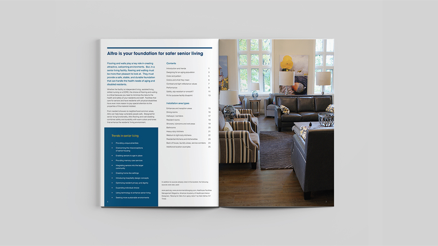 brochure email and social media design on behance