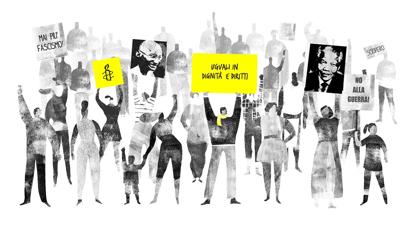 amnesty animation  campaign commercial lasciti