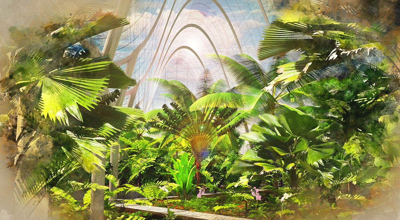 Edinburgh Botanic Gardens Option 2 on Behance