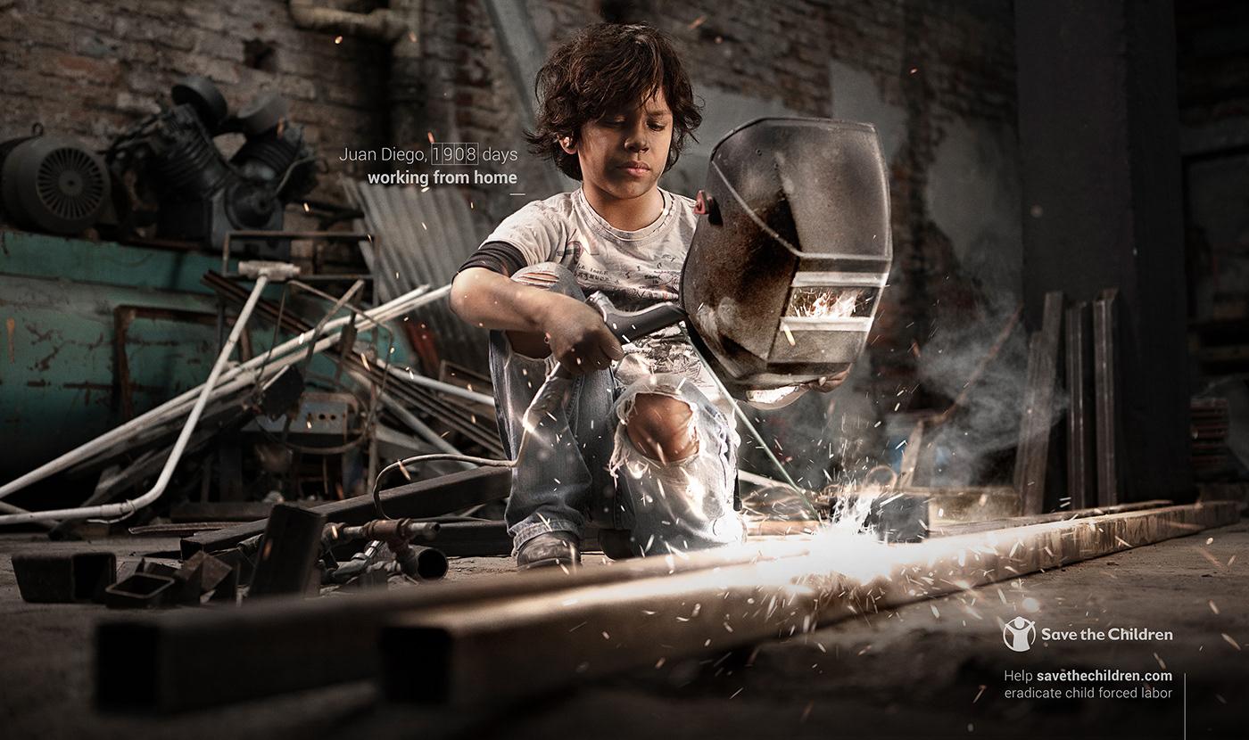 boy child children documental exploitation girl home office mexico niño working