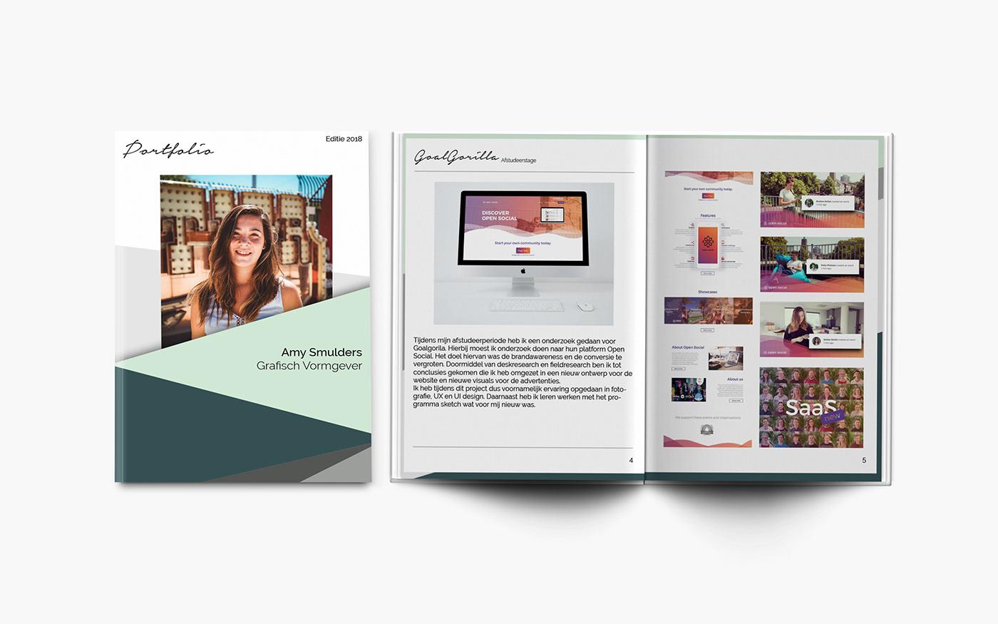 35+ Ideas For Graphic Design Portfolio Pdf 2018